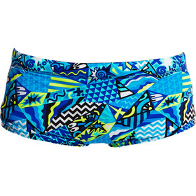 Funky Trunks Classic Boxer de bain Garçon, rock steady